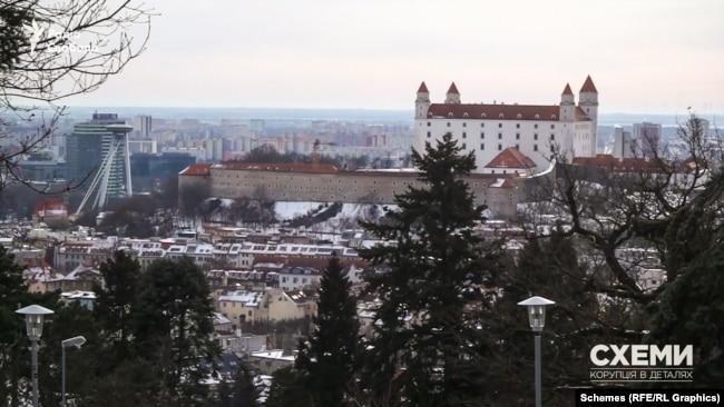 Братислава – столиця Словаччини