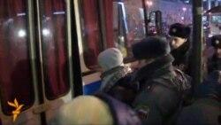 Мәскәүдә протест белдерүчеләр тоткарланды