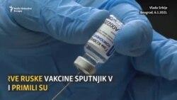 Zvaničnici Srbije vakcinisani ruskom vakcinom