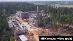 Строительство гостевого и лечебного комплекса рядом с дачей Путина в Ново-Огарево