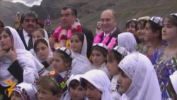 Tajik President, Aga Khan Launch Tajik-Afghan Bridge