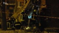 У Чернігові внаслідок вибуху обвалилась частина житлового будинку (відео)