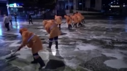Тбилиси: мытьем улиц по коронавирусу