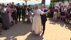 Цветы и казачья труппа: Путин на свадьбе главы МИД Австрии (видео)