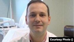 dr. Radu Tincu, medic ATI Spitalul Floreasca