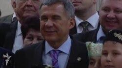 Миңнеханов Бишкәктә татарлар белән очрашты
