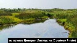 Разлив нефтепродуктов в заливе Охотского моря