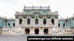 Маріїнський палац у Києві (фото з сайту Офісу президента України)