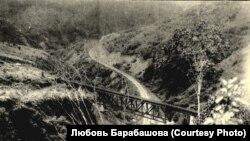 Чертов мост. Вид сверху