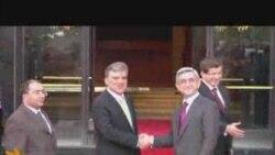 Түрк жана армян президенттери Бурсада