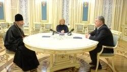 Порошенко сподівається на допомогу церкви у звільненні українських політв'язнів з російських тюрем (відео)