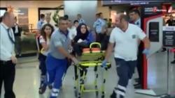 ВІДЭА: У выніку выбухаў і перастрэлкі ў аэрапорце ў Стамбуле загінулі 28 чалавек