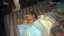 После авиаударов России из сирийской больницы эвакуируют новорожденных (видео)
