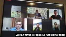 Онлайн-урок татарского языка, организованный для живущих в Афганистане татар.