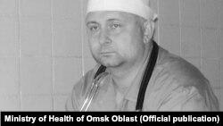 Заместникът на главния лекар в болницата в Омск Сергей Максимишин.