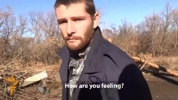 Prisoners Exchanged At Ukraine Checkpoint