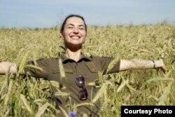 Світлана Халімоненко, офіцер служби зв'язків з громадськістю Оперативного командування