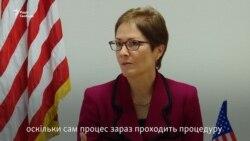 Посол США Марі Йованович і начальник Генштабу ЗСУ Віктор Муженко – про «Джавеліни»