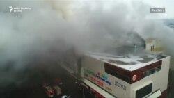 Veliki požar zahvatio ruski tržni centar