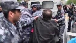 A noua zi de proteste la Erevan