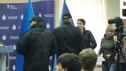 Тетяна Чорновол прийшла на брифінг Бабікова