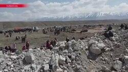 Погром на золотодобывающей фабрике в Кыргызстане