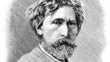 Костянтин Трутовський. «Тарас Шевченко з кобзою над Дніпром», 1875 рік