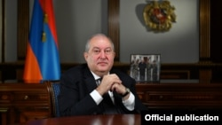 Арманистон президенти Арман Саркисян.