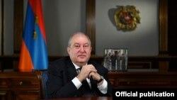 Ermenistanyň prezidenti Armen Sarkisýan