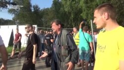 Belgrade Protesters Decry Tree Cutting