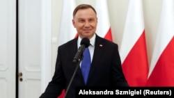 Прэзыдэнт Польшчы Анджэй Дуда