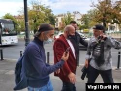 Cristian Popescu Piedone la procesuldin dosarul Colectiv de miercuri, 22 septembrie.