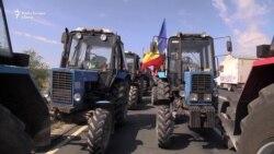 """Agricultori """"la limita răbdării"""" au venit să protesteze la Chișinău"""