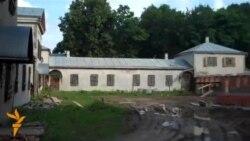 Палац Агінскіх летам 2011 году