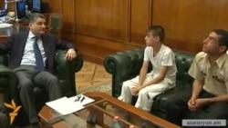 14-ամյա Հովհաննեսը դեմառդեմ հանդիպեց վարչապետին. նրա ցանկությունը կատարվեց