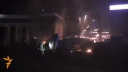 Ciocniri intense la Kiev între protestatari și forțele speciale guvernamentale