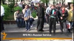 "Moskwada ""döredijilikli"" protestler göze ilýär"