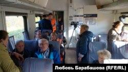 """Дачники и журналисты – пассажиры последнего """"японского"""" рейса"""