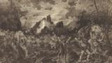 Вальпургиева ночь. «Мефистофель» Арриго Бойто на сцене Венской придворной оперы. Март 1882. Рисунок Вильгельма Гаузе.