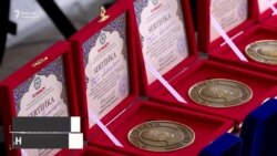 ТҮРКСОЙ акындарды «Абай» медалы менен сыйлады