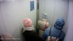 Видео задержания Артема Загребельного, на котором прокурор увидел, что сотрудник ФСБ в штатском предъявил удостоверение