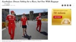 """Formula 1. """"Oturacaqlar yalnız test yürüşlərində boş olub"""""""
