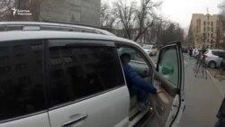Мурдагы премьер-министр Боронов сурак берүүдө
