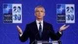 «Від України та Альянсу залежить, коли Україна стане частиною НАТО. Росія тут не має права голосу», – зазначив генеральний секретар НАТО Єнс Столтенберґ