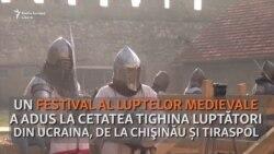 Festival Medieval la Cetatea Tighina, cu luptători din Ucraina, Chișinău și Tiraspol