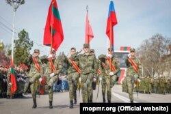 Pregătiri pentru parada de 9 Mai, Tiraspol , 30 April 2021