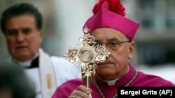Католичкиот архиепископ од Минск Тадеуш Кондрусиевич.