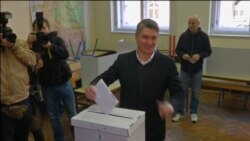 Milanović i Karamarko na biralištima