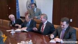 Ուկրաինայի և Ռուսաստանի ԱԳ նախարարները մեղադրանքներ փոխանակեցին ՄԱԿ-ում