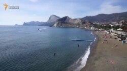 Судакская бухта и набережная (видео)